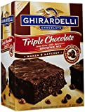 Ghirardelli Triple Chocolate Brownie Mix- 7.5 lb box