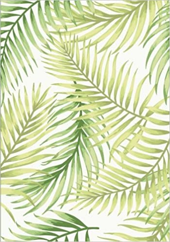 Tropical Leaves Notebook 7 X 10 Inch Ruled Notebook With Botanical Green Leaf Print Cover Pewter Penelope 9781977796097 Amazon Com Books 10 exotic foliage and leaves digital scrapbook paper pack in trendy tropical style papers in black, green, pink. botanical green leaf print cover