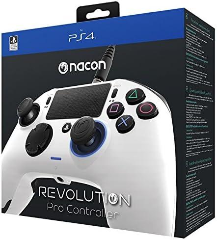 Nacon Revolution Pro Controller - Mando alámbrico, color blanco ...