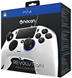Nacon Revolution Pro Controller - Mando alámbrico, color blanco (PS4)