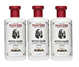 Thayers Astringent, Peach, Witch Hazel, 12-Ounces (Pack of 3)