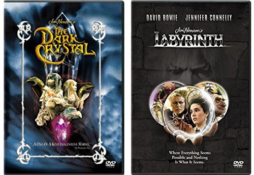 Fantasy 2-DVD Set - Labyrinth and Dark Crystal 2-Movie - Story Christmas Spider Legend Of The