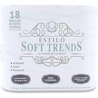 Estilo Soft Trends Papel Higiénico, De 200 Hojas Dobles