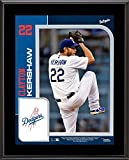 """Clayton Kershaw Los Angeles Dodgers 10.5"""" x 13"""" Sublimated Player Plaque - Fanatics Authentic Certified"""