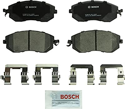 Bosch BC1539 QuietCast Premium Ceramic Disc Brake Pad Set For: Scion FR-S; Subaru BRZ, Crosstrek, XV Crosstrek, Forester, Impreza, Legacy, Outback; Toyota 86, Front