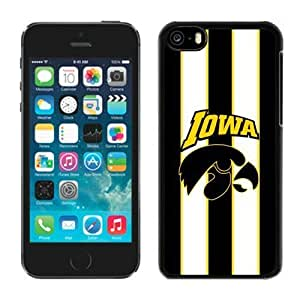Customized for iphone 5c Case Ncaa Big Ten Conference Iowa Hawkeyes 11