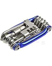 Portable 11 in 1 Road Bike Bicycle Repair Multi-Tools MTB Bike Cycling Kit Set
