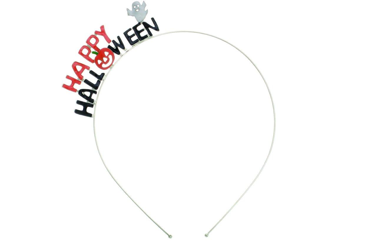 Rosemarie Collections Women's Happy Halloween Party Pumpkin Headband