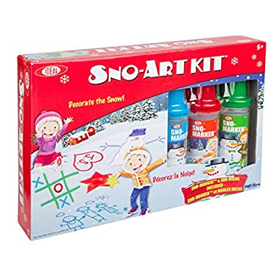 Ideal Sno Art Kit Kids Outdoor Snow Activity: Toys & Games