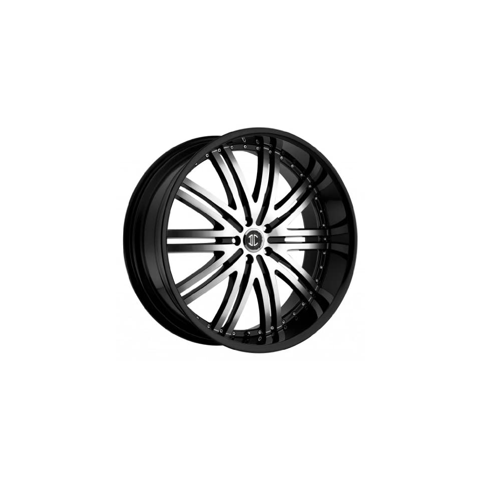 26 inch 26x10.0 2Crave No. 11 Black wheel rim; 5x4.5 5x114.3 bolt pattern with a +15 offset. Part Number N11 2610LL15JB Automotive