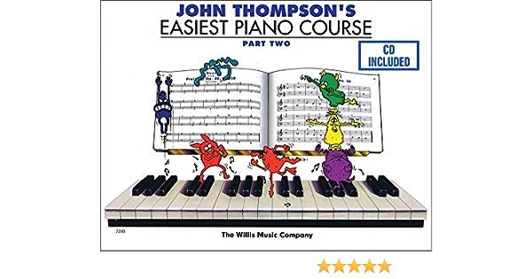 Willis Music John Thompson/'s Corso Facilissimo per Pianoforte 2