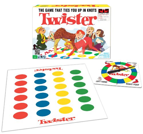 Classic Twister (Twister Game Mat)