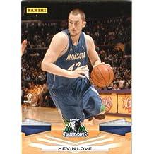 2009 /10 Panini NBA Basketball Card # 214 Kevin Love Minnesota Timberwolves Mint Condition