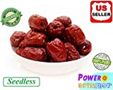 5 Pounds (80 oz) Seedless ALL NATURAL GROWN ORGANICALLY Seedless Dried JUJUBE DATES,Dates,CHINESE DATES,US SELLER,Fresh,Seedless,HAND SELECTED