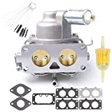 Dosens Carburetor Carb for Briggs & Stratton 791230 799230 699709 499804 V-Twin 20hp 21hp 23hp 24hp 25hp Manual Choke with Gasket & Carbon Dirt Jet Cleaner Tool Kit