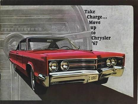 Amazon com : Original Sales Brochure - Catalog for 1967 Chrysler