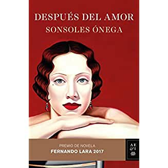 Después del amor book jacket