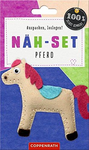 Näh-Set: Filzanhänger Pferd (100% selbst gemacht) Unbekannter Einband – 3. Februar 2016 Maren Kelch Coppenrath B016IG5N4W empfohlenes Alter: ab 8 Jahre