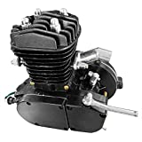"80CC 26"" 28"" Bike Bicycle Motorized 2 Stroke Cycle Petrol Gas Engine Kit Set (Black)"