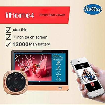 Mirilla digital wifi Peephole Ihome4 Rollup