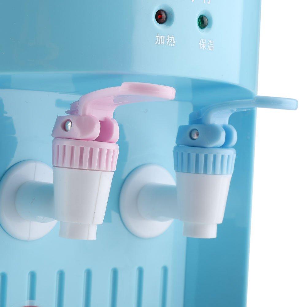 Zerodis 220V 5L Mini dispensador de Agua Refrigerador de Agua eléctrico Máquina de Bebida de Agua fría Caliente para Uso de la Oficina, casa (Blue): ...