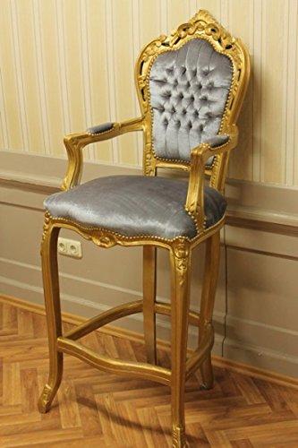 Barroco silla taburete silla ceremonial de estilo antiguo ...