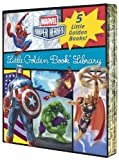 img - for Marvel Little Golden Book Library (Marvel Heroes) by Various (2016-06-29) book / textbook / text book