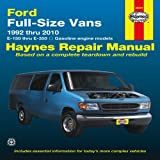 Ford Full-Size Vans 1992 Thru 2010, Max Haynes, 1563929228