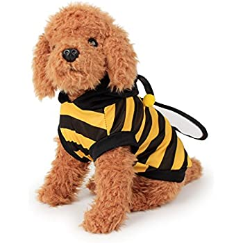 FanQube Bumble Bee Dog Clothes Pet Costume for Puppy and Cat (L)