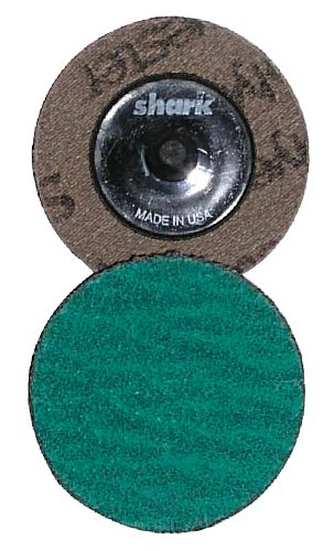 Shark 12613 2-Inch Grit-36 Green Zirconia Mini Grinding Discs, 25-Pack
