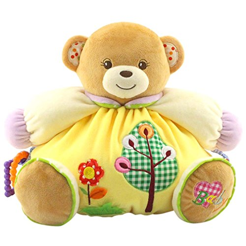 Youngate Infant Baby Chileren Toy Bear Doll Soft Plush Toy R