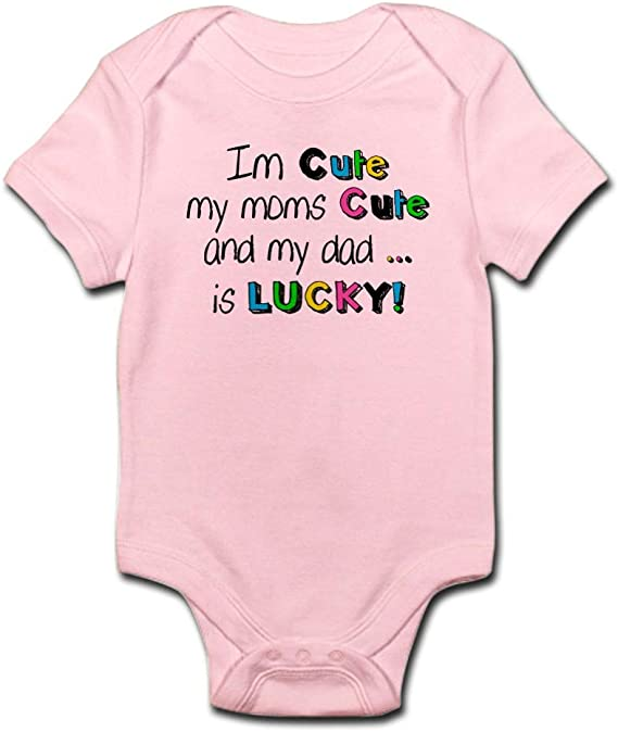 CafePress I Wear This Shirt Peri Cute Long Sleeve Infant Bodysuit Baby Romper