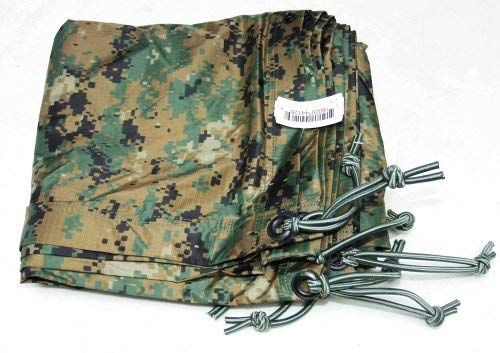 Official USMC Reversible Woodland MARPAT/Coyote Field Tarp by Orc Industries, Inc.