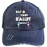 Eat Sleep Ballet Hat, I Do Ballet Trucker Cap (Trucker Cap - Navy)