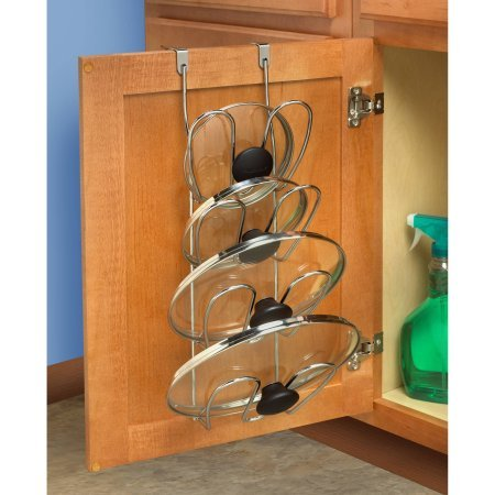 Over Door Cabinet Pot and Pan Lid Organizer