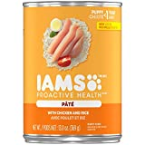 Iams Proactive Health Puppy With Chicken And Rice Pate Wet Dog Food...