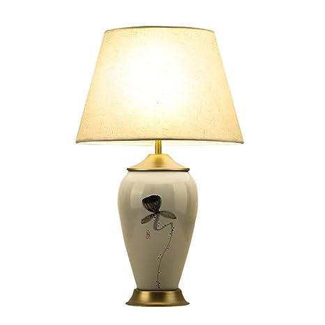 Mzqkrd Lámpara de Mesa Dormitorio lámpara de Noche lámpara ...