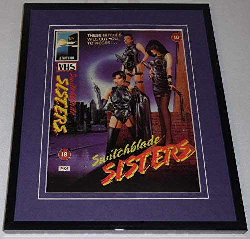 Switchblade Sisters Framed 8x10 Repro Poster Display Monica Gayle Joanne Nail
