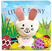 Hippity, Hoppity, Little Bunny (Finger Puppet Board Book for Easter Basket Stuffer Ages 0-4) (Finger Puppet Bo