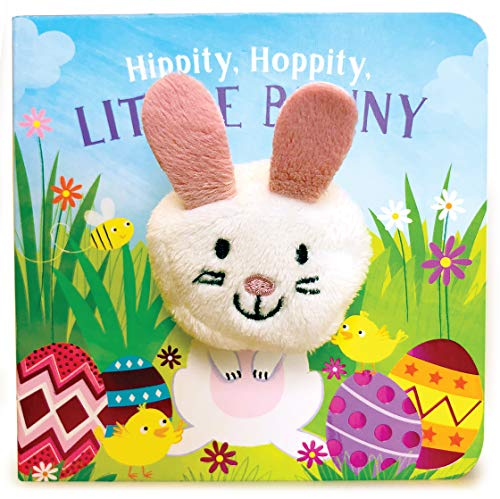 Hippity, Hoppity, Little Bunny Finger Puppet Book