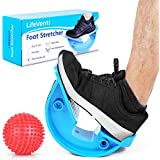LifeVenti Foot Rocker and Spiky Ball – Foot and Calf Stretcher for Plantar Fasciitis, Achilles Tendonitis, Heel, Feet Pain Relief – Stretches Achilles Tendons and Legs for Improved Flexibility