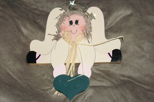 Angel Shelf Sitters - 1997 LTD Commodiities Angel Shelf Sitter Wood