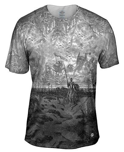 Yizzam- Gustave Dore - Don Quixote (1891) -Tshirt- Mens Shirt-Large