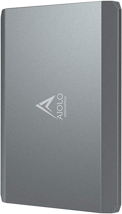 Aiolo 1tb Portable External Hard Drive Aluminium Alloy Computers Accessories