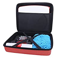 Aenllosi All in One Carrying Case for Osmo Creative Set, fits Other Game kit (red)