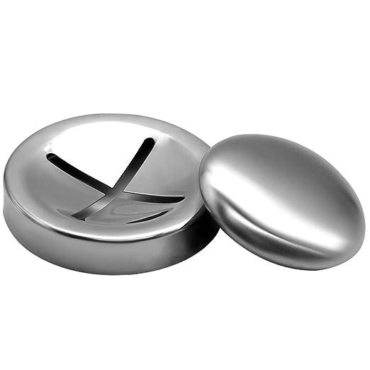 Jabón De Acero Inoxidable Cocina Eliminar Quitar ajo Olor Olor durable para usar
