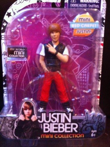 Justin Bieber 5- inch Mini Figure Collection-Red Carpet