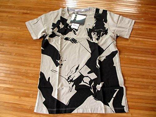 ★★ユニクロUNIQLO★エヴァンゲリオン・コラボ・半袖Tシャツ★メンズXS★greyグレイの商品画像