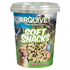 Arquivet Soft Snacks para Perro Huesitos Duo de Cordero y arroz 300 g