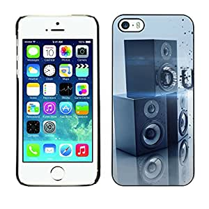 Hot Style Cell Phone PC Hard Case Cover // M00100225 3d bass dubstep abstract // Apple iPhone 5 5S